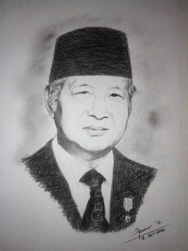 Kaos Soekarno Sketch sketsa wajah tokoh terkenal fransisco1983 s