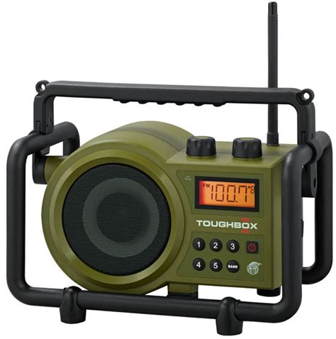 rugged fm radio sangean toughbox tb 100 ultra rugged am fm radio