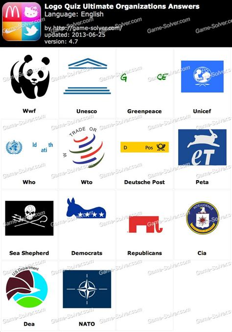logo quiz ultimate media answers game solver organization logos and names gallery