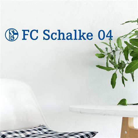 Wandtattoo Schalke