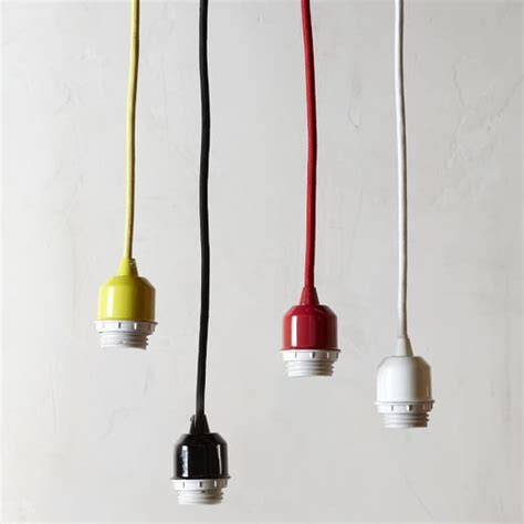 Pendant Cord Set West Elm Corded Pendant Light