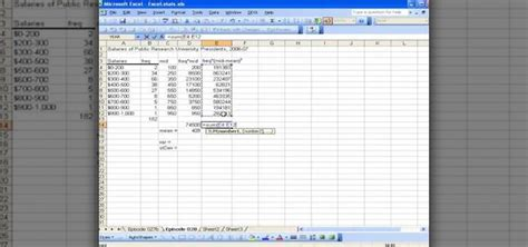 how to calculate variance and standard deviation using