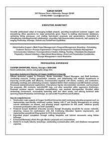 summary of qualifications resume sles summary of qualifications sle resume for administrative