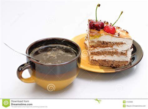 kuchen kaffee kaffee und kuchen lizenzfreie stockbilder bild 5122989
