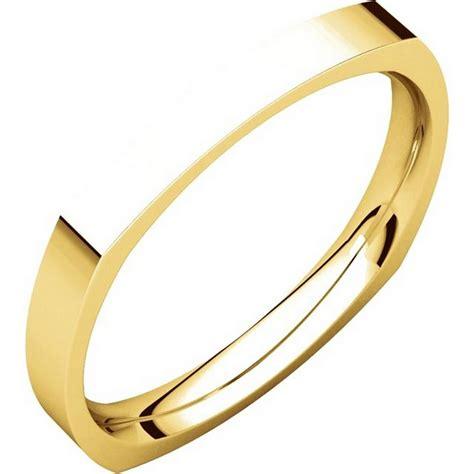 wedding rings square 48839 square classic wedding ring
