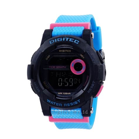 Digitec Dg 2074 For digitec dg 2074t hitam biru jam tangan sport anti air murah