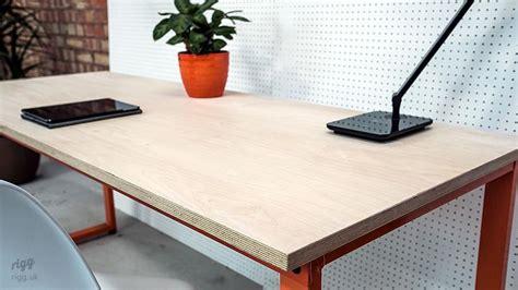 Loop Desk, Birch Plywood Top
