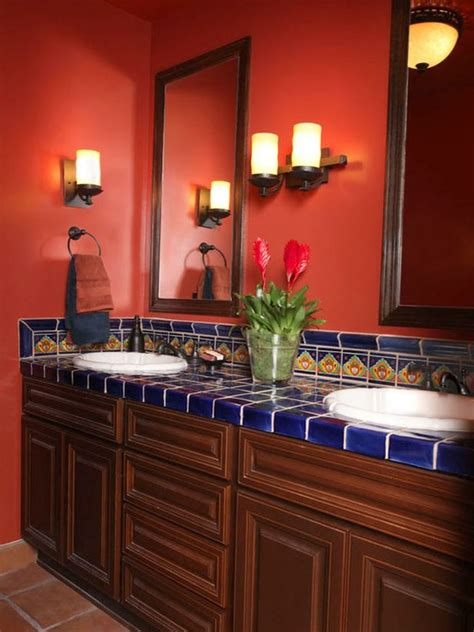 red bathroom decorating ideas 39 cool and bold red bathroom design ideas digsdigs