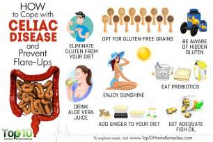 how to cope with celiac disease and prevent flare ups top 10 home remedies