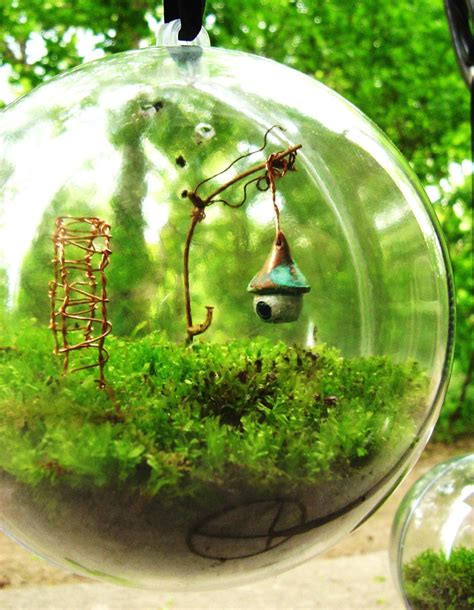 fairy terrarium the secret garden moss terrarium globe