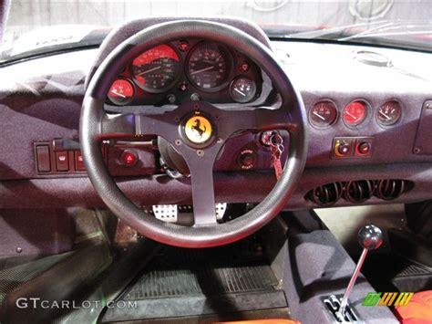 Paint For Home Interior 1991 Ferrari F40 Standard F40 Model Dashboard Photos