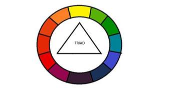 triad colors uniquecozytreasures color wheel made easy