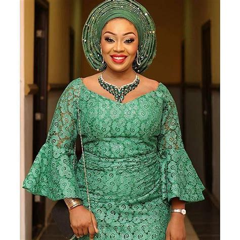 latest iro and blouse check out beautiful iro and blouse lace aso ebi styles