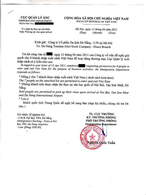 Invitation Letter For Visa On Arrival Hanoi Arrival Justin Klein Of A Traveling Programmer