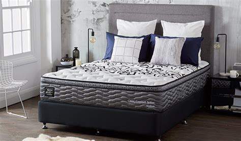 King Koil Headboards by King Koil Chiro Comfort Active Mattress Plush Beds