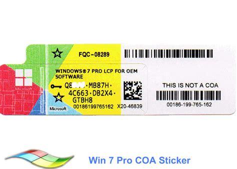 Software Windows 7 Pro 64bit Oem Original Original 100 Original Windows 7 Pro 64 Bit Product Key Software