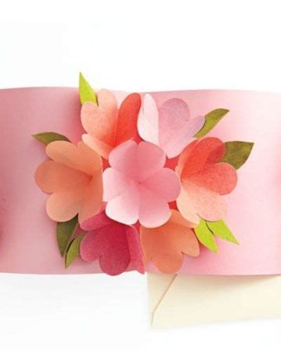 Free Printable Flower Pop Up Card Templates by Printable Pop Up Card Template Papercraft Juxtapost