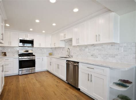 Ice White Shaker   Greencastle Cabinetry