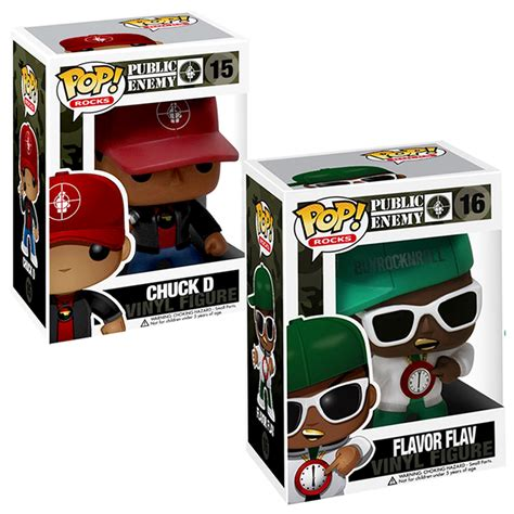 chuck d figure enemy collectibles funko 2011 flavor flav chuck