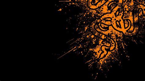 Wallpaper Orange And Black