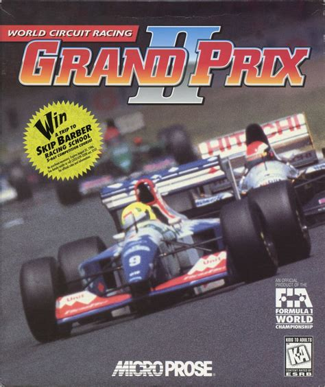 grand prix ii grand prix ii for dos 1995 mobygames