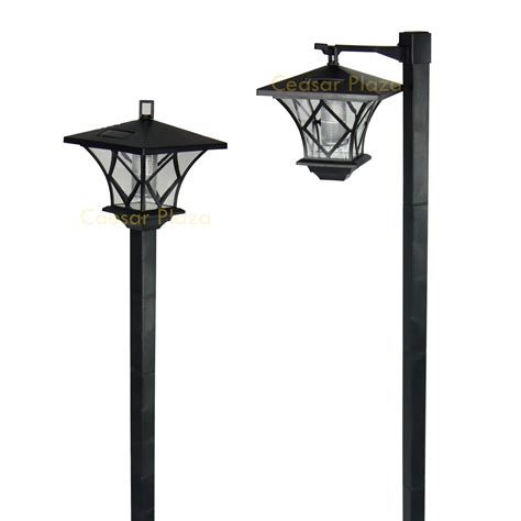 Outdoor Solar Pole Lights Gama Sonic 174 7 Solar L Post L Post Solar Lights Outdoor