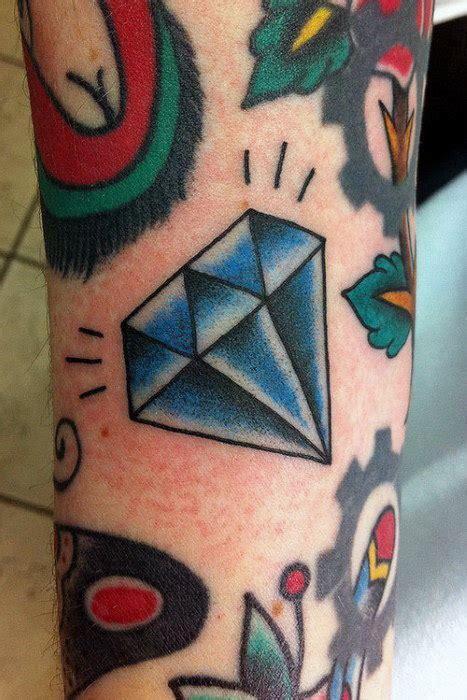 tattoo diamond old school 70 diamond tattoo designs for men precious stone ink