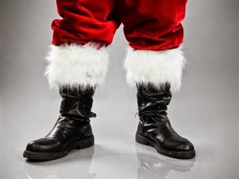 santa boots of the mix white lies or yes