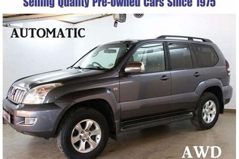 how to learn about cars 2005 toyota land cruiser electronic toll collection 2005 toyota land cruiser prado land cruiser prado 4 0 vx cars for sale in gauteng r 199 950 on