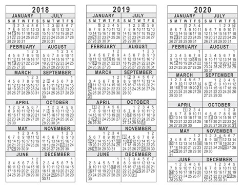 10 year calendar template three year calendar printable free 187 calendar template 2018