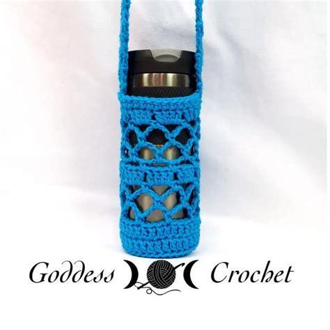 crochet pattern bottle holder free crochet pattern what a mesh water bottle holder