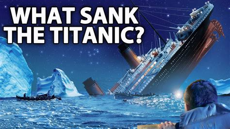 real pictures of the titanic sinking 187 mystery what s the real reason why titanic sank