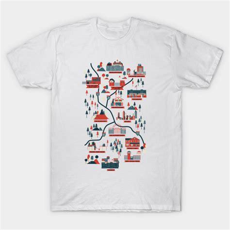 Tshirt World Map the walking dead map t shirt teepublic