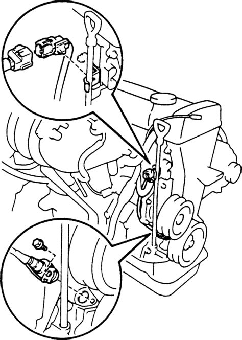 Sensor Ckp Toyota Camry 2az repair guides components systems crankshaft