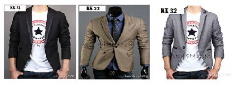desain jas anak muda jas blazer korea pria gaya jas blazer pria anak muda