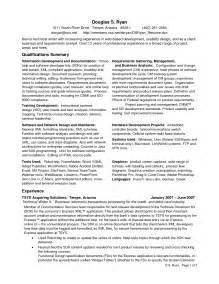 sle business analyst resume template design
