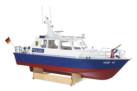 radio controlled model boats kits krick radio control police motor launch 1 20 scale model