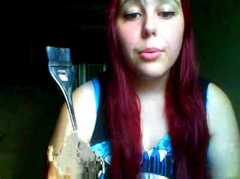 brown bottom bleached top with red how to dye your hair red from dark brown without bleach
