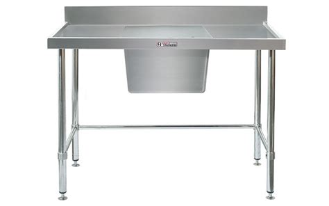 used stainless steel benches simply stainless s steel sink bench single sink centre