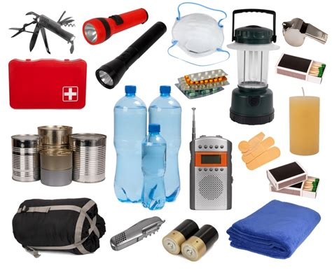 emergency survival kits for earthquakes and other