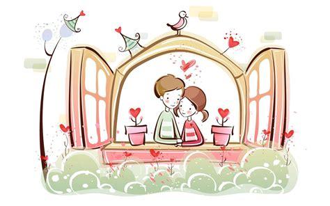 wallpaper love couple cartoon love cartoon wallpapers wallpaper cave