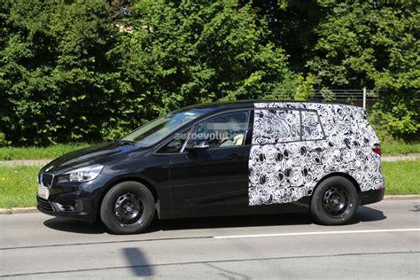 2015 bmw 2 series 7 seater spied half autoevolution