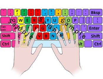 color coded keyboard computer keyboard and keypad color coded with