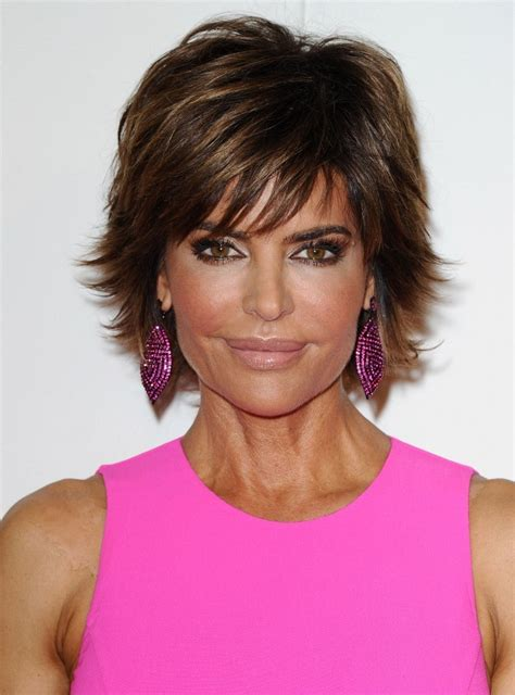 qvc women hair styles more pics of lisa rinna layered razor cut 4 of 9 short