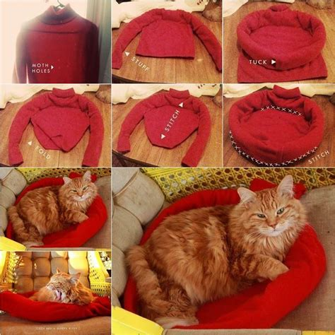 diy cat beds diy couch pet bed