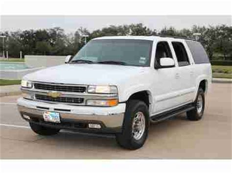 how cars engines work 2003 chevrolet suburban 2500 auto manual find used 2003 chevy suburban 2500 lt 4x4 autoride 8 1l v8 bose 6 cd warranty in houston