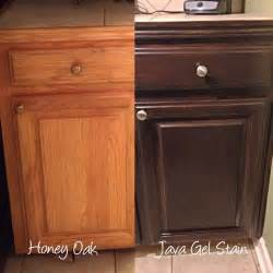 i m refinishing my honey oak kitchen cabinets with general