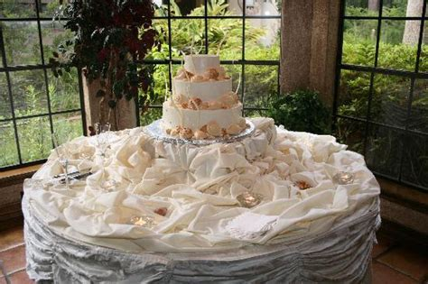 The wedding cake was not only beautiful, but was the best