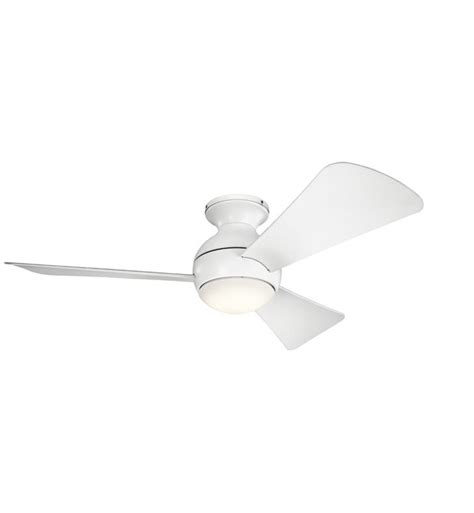 kichler sola ceiling fan kichler 330151ni sola 3 blades 44 quot indoor ceiling fan with