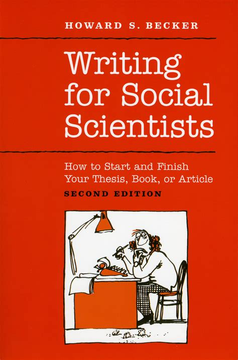 social science dissertation writing for social scientists how to start and finish